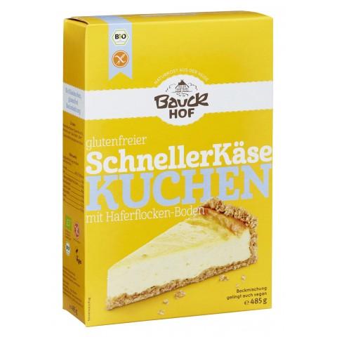 Bauckhof Bio glutenfreier Schneller Käsekuchen 485 g