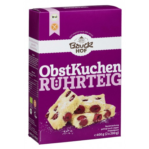 Bauckhof Bio Obstkuchen Rührteig 400 g