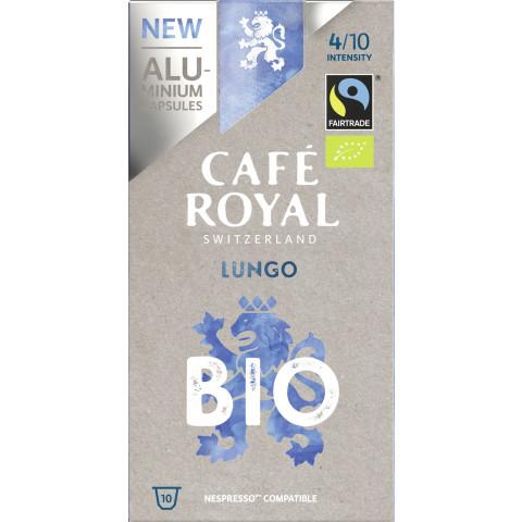 Cafe Royal Bio Lungo Nespresso kompatible Kapseln Fairtrade 10x 5 g