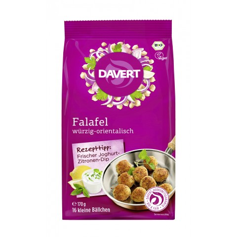 Davert Bio Falafel würzig-orientalisch 170 g
