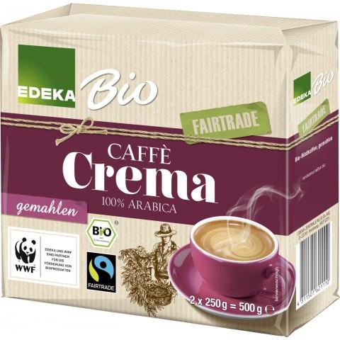 EDEKA Bio Caffe gemahlen Fairtrade 2x 250 g