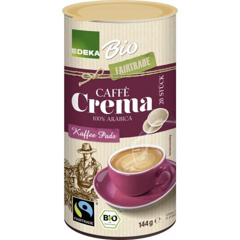 EDEKA Bio Kaffeepads Fairtrade 20ST 144G