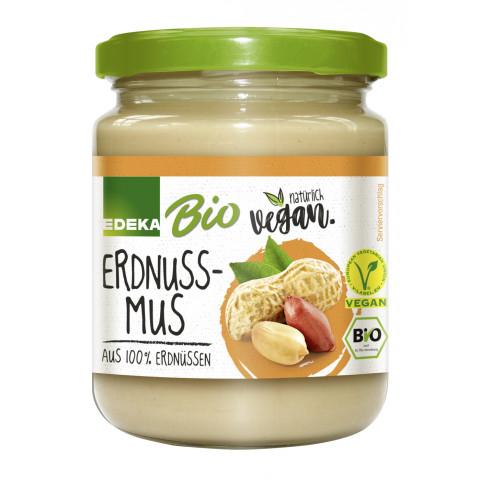 Bio EDEKA+Vegan Erdnussmus 250G