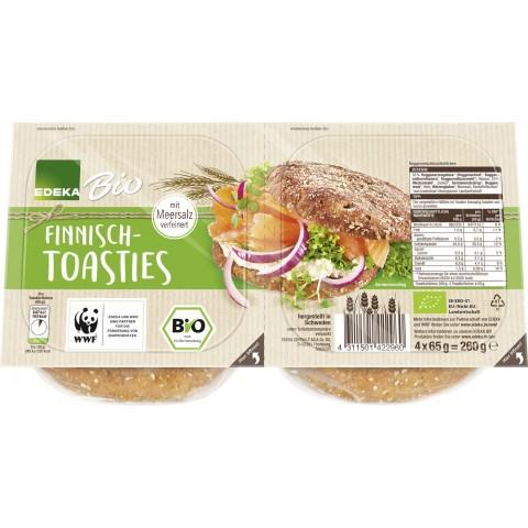EDEKA Bio Finnisch-Toasties 4x 65 g