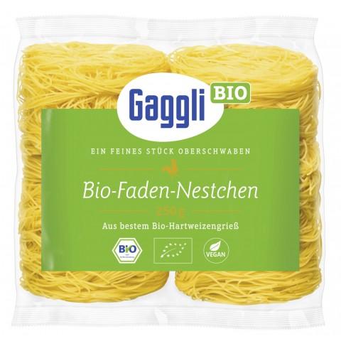 Gaggli Bio Faden-Nestchen 250 g