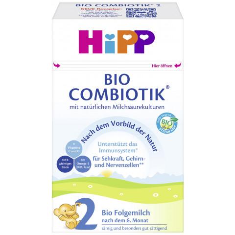 Hipp Bio Combiotik Folgemilch 2 nach dem 6.Monat 600G