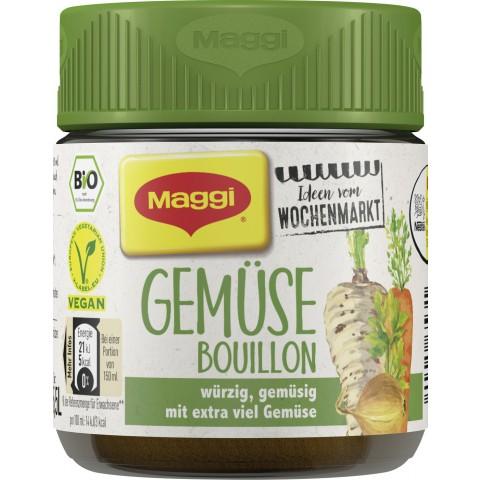 Maggi Bio Ideen vom Wochenmarkt Gemüse Bouillon