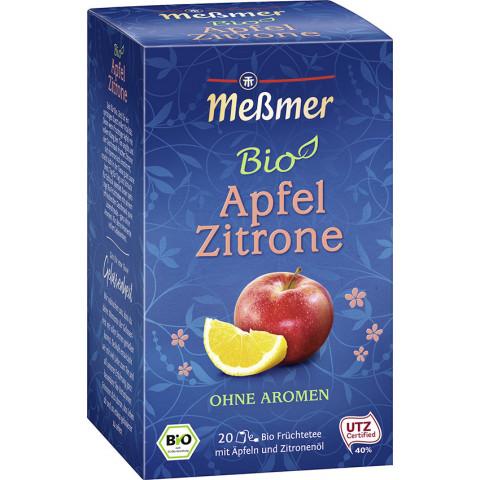 Meßmer Bio Tee Apfel Zitrone 20x 2,5 g