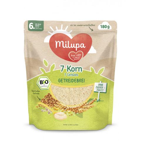 Milupa Bio 7 Korn Getreidebrei ab dem 6.Monat 180G