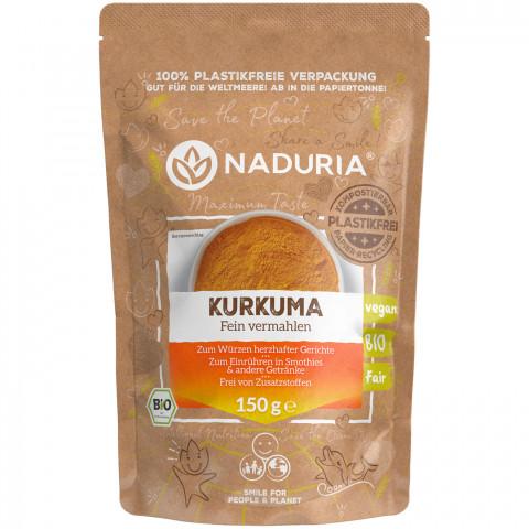 Naduria Bio Kurkuma fein vermahlen 150 g