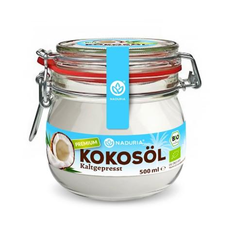 Naduria Bio Premium Kokosöl kaltgepresst 500 ml