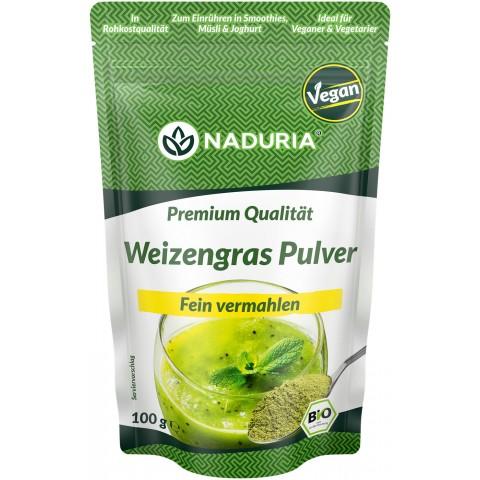 Naduria Weizengras Pulver vegan