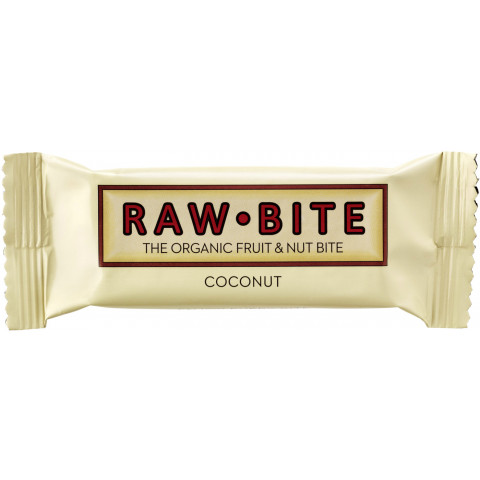 Raw Bite Bio Coconut Riegel 50 g