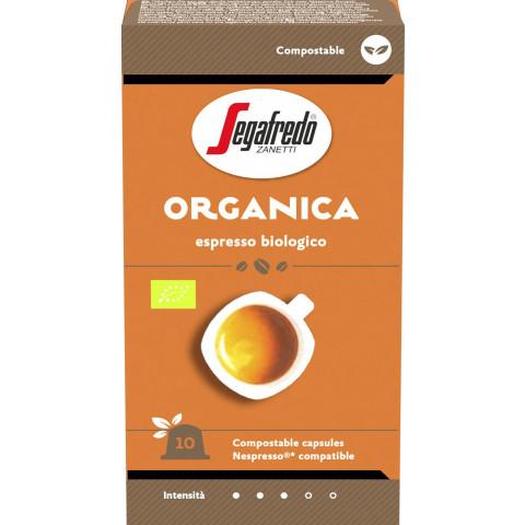 Segafredo Bio Organica Kaffeekapseln 10x 5,1 g