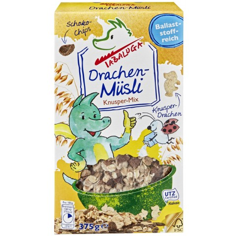 Tabaluga Bio Drachen-Müsli Knusper-Mix