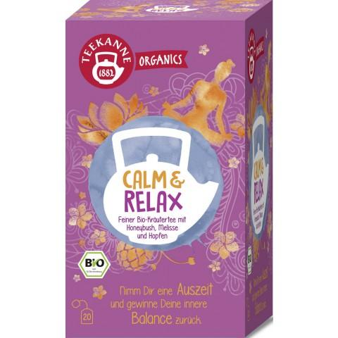 Teekanne Bio Organics Calm & Relax 20x 1,8 g