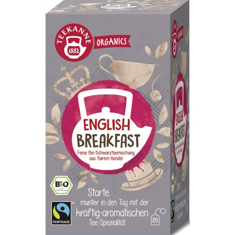 Teekanne Bio Organics English Breakfast 20x 1,75 g
