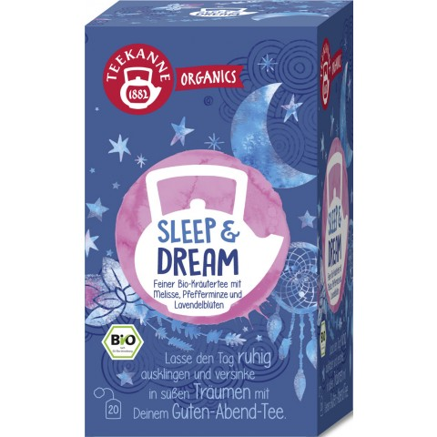 Teekanne Bio Organics Sleep & Dream 20x 1,7 g