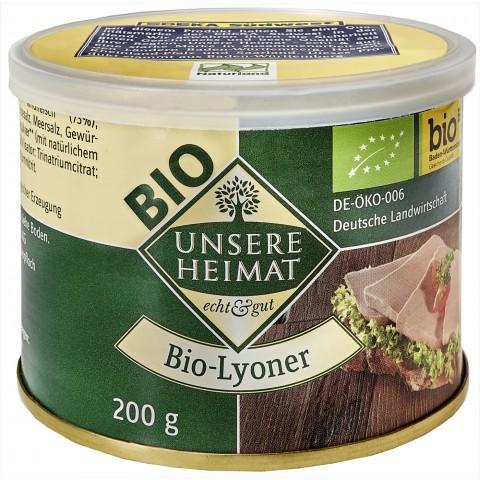 Unsere Heimat Bio-Lyoner 200 g