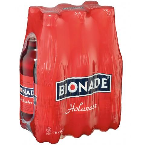 Bionade Bio Holunder Getränk 6x 0,5 ltr PET