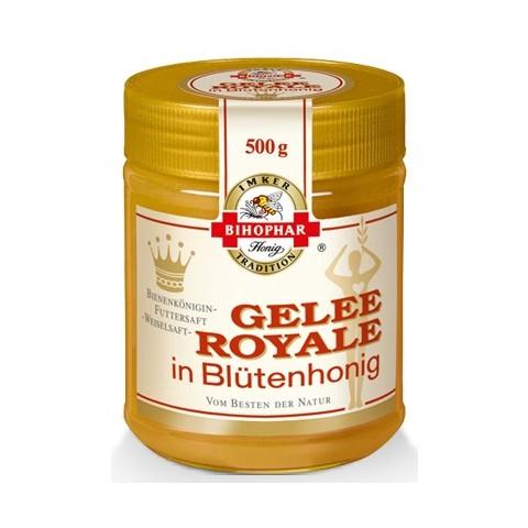 Bihophar Gelee Royale in Blütenhonig 500 g