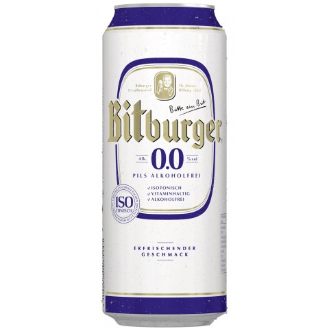 Bitburger Alkoholfrei 0,5 ltr Dose