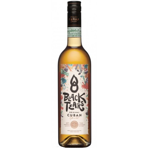 Black Tears Cuban Spiced 0,7 ltr
