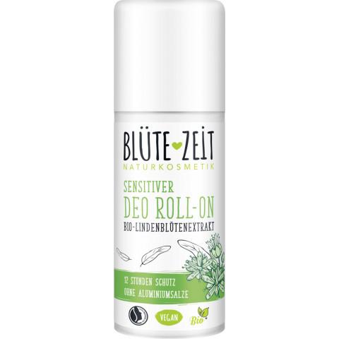 Blüte-Zeit Deo Sensitiver Roll-On Bio-Lindenblütenextrakt 50ML