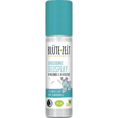 Blüte-Zeit Erfrischendes Deo-Spray Wasserminze & Salbeiextrakt 75ML