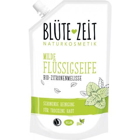 Blüte-Zeit Milde Flüssigseife Bio-Zitronenmelisse 0,3 ltr