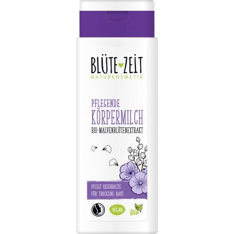 Blüte-Zeit Pflegende Körpermilch Bio-Malvenblütenextrakt
