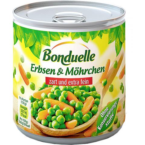 Bonduelle Erbsen & Möhrchen zart und extra fein 800 g