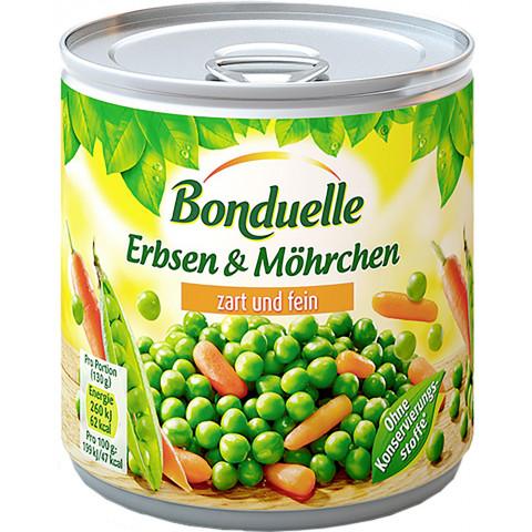 Bonduelle Erbsen & Möhrchen zart und fein 400 g
