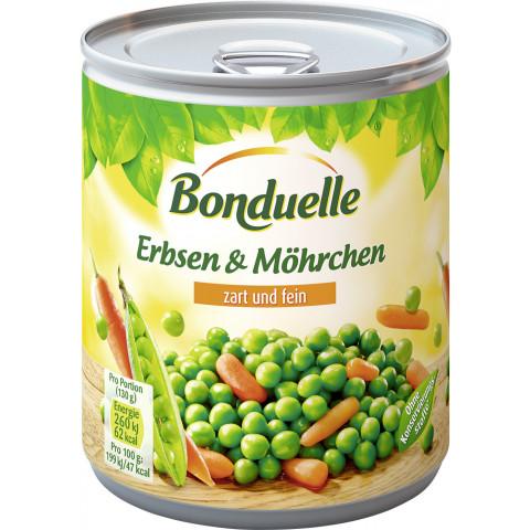 Bonduelle Erbsen & Möhrchen zart und fein 800 g