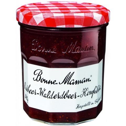 Bonne Maman Erdbeer-Walderdbeer-Konfitüre 370 g