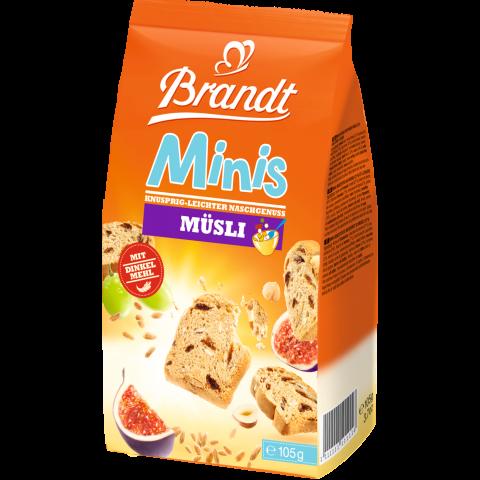 Brandt Zwieback Minis Müsli