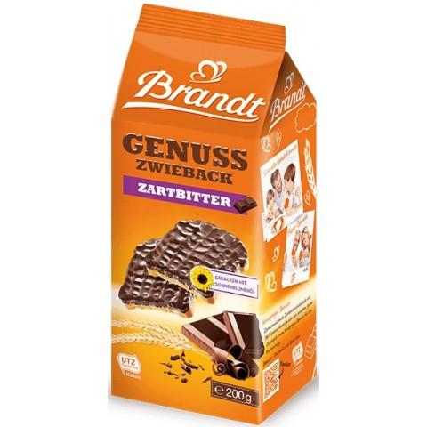 Brandt Genuss Zwieback mit Zartbitter-Schokolade 200 g