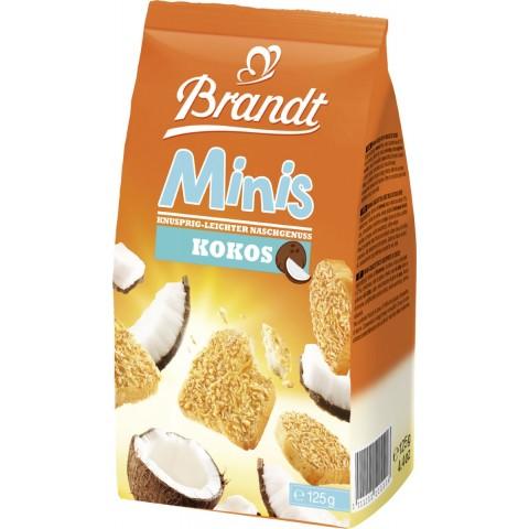 Brandt Zwieback Minis Kokos 125 g