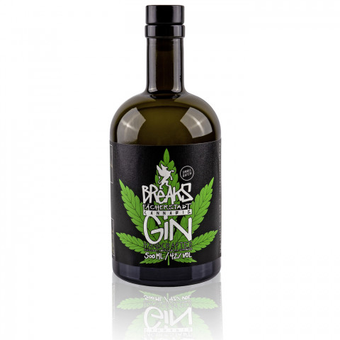 Breaks Premium Dry Gin Cannabis 0,5 ltr