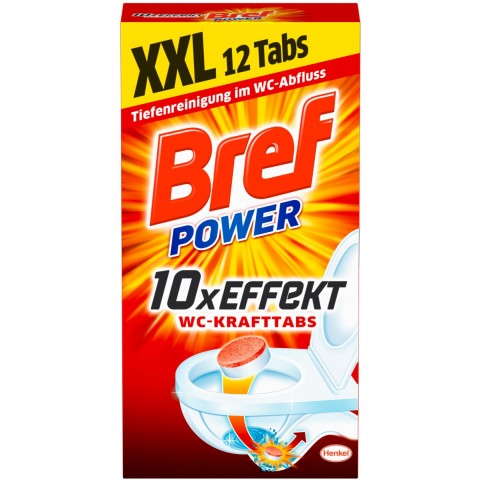 Bref Bref Power 10x Effekt WC-Krafttabs