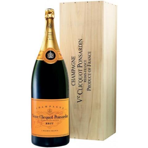 Veuve Clicquot Champagner Brut BALTHAZAR Flasche