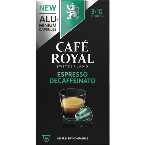 Café Royal Espresso Decaffeinato Kaffeekapseln 10x 5 g