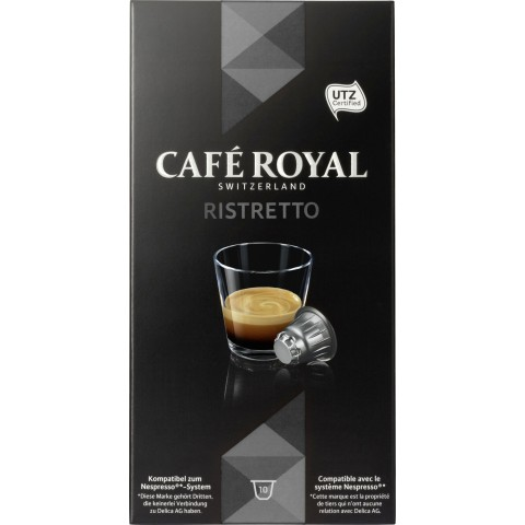 Cafe Royal Ristretto Intensität 9