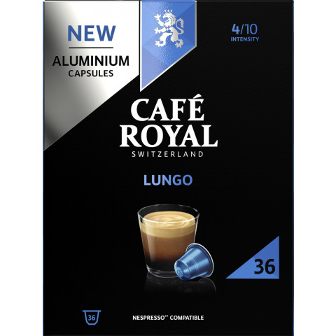 Café Royal Lungo Kaffeekapseln 36x 5,28 g