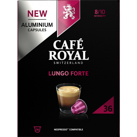 Café Royal Lungo Forte Kaffeekapseln 36x 5,5 g