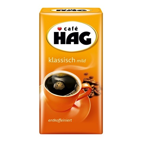 Café Hag Klassich mild entkoffeiniert 500 g
