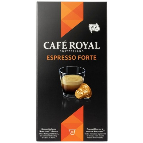 Cafe Royal Espresso Forte Intensität 8