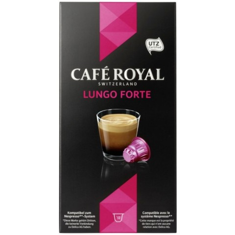 Cafe Royal Lungo Forte Intensität 8
