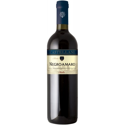 Castellani Negroamaro Puglia 2018 0,75 ltr