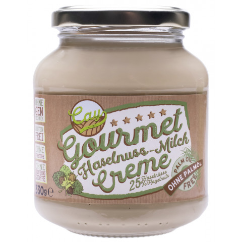 Cay Gourmet Haselnuss-Milch-Creme 330 g